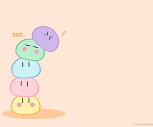 dango, clannad, and anime image