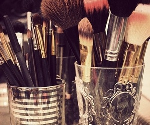 beautiful, Brushes, and girl image