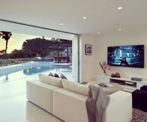 luxury, house, and living room image