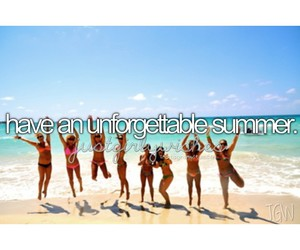 summer, girl, and unforgettable image