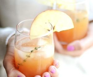 drink, yummy, and cocktail image