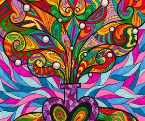 amazing, gentleness, and mandala image