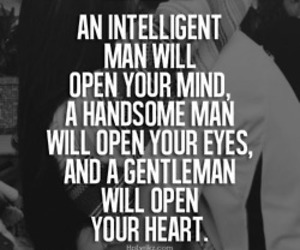 love, gentleman, and heart image