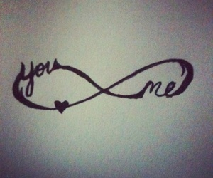 infinity, you, and me image