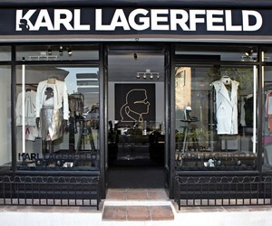 karl lagerfeld and shop image