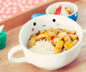 food, cute, and rice image