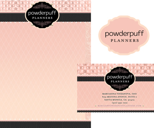 party planning, stationery design, and glamorous logos image