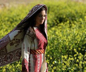 beauty, palestine, and clothes image
