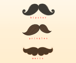 hipster, mario, and pringles image