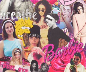 barbie, Collage, and marina and the diamonds image