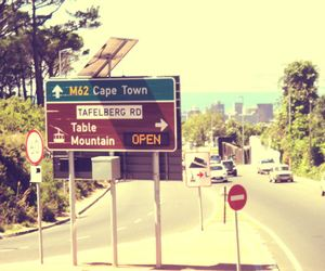 cape town, cars, and direction image