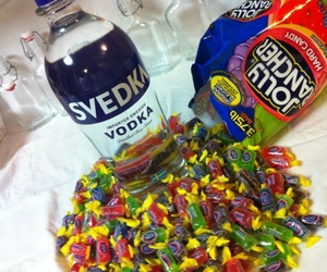 candy, drink, and vodka image