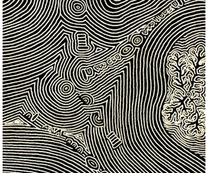 abstract, art, and black and white image