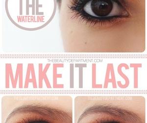 makeup, dubtrackfm, and eyeliner image