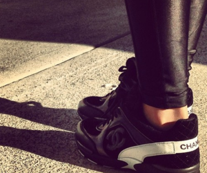 black, chanel, and cool image
