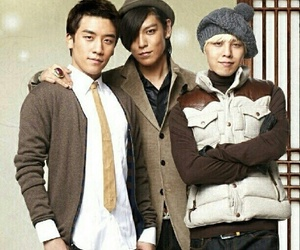 bigbang, g-dragon, and T.O.P image