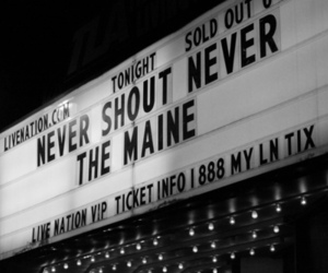 the maine and never shout never image