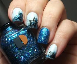 beauty, blue, and glitter image