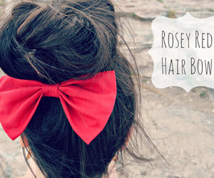 bow, red, and red bow image
