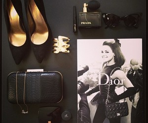 dior, shoes, and bag image