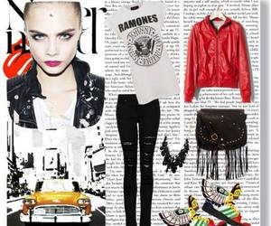 franjas, look, and outfit image