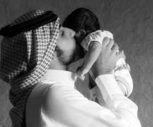 arabic, father, and muslim image