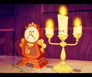 lumiere and cogsworth image