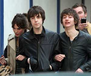 alex turner, miles kane, and milex image