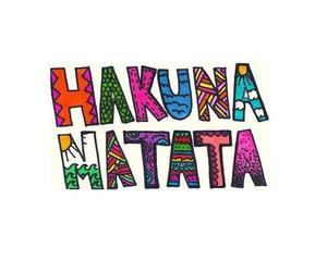 hakuna matata, hakuna, and matata image