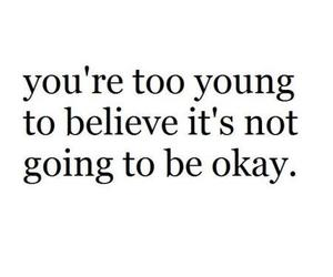 quote, believe, and okay image