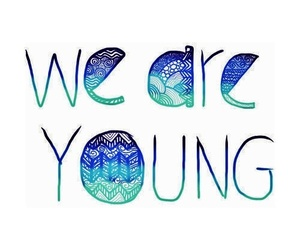 Forever Young, turquoise, and photography image