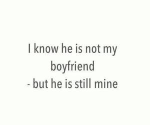 love, boyfriend, and mine image