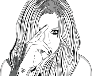 amazing, Avril, and drawing image