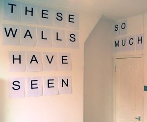 wall, room, and seen image