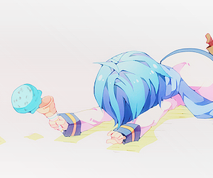 vocaloid, ice cream, and kaito image