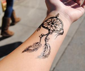 tattoo and capteur de reve image