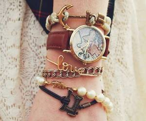 bracelet, watch, and accessories image