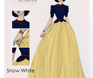 snow white, princess, and disney image