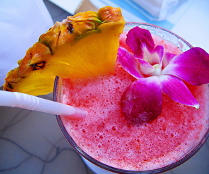 cool, drinks, and flower image
