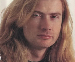 dave mustaine, heavy metal, and megadeth image