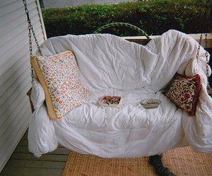 swing, comfy, and pillow image