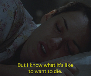die, girl interrupted, and winona ryder image