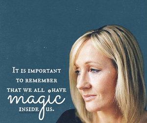 harry potter, jk rowling, and magic image