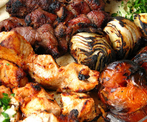 grilled food image