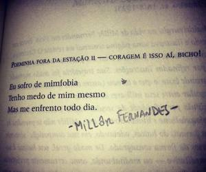 frases, Medo, and mim image