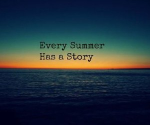 summer, story, and sea image