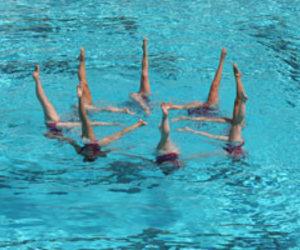 natation and synchronisée image