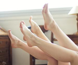 feet, skin, and vintage image