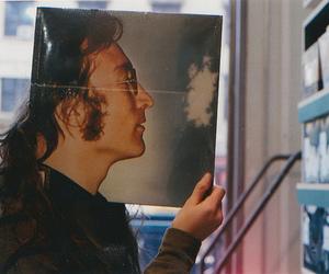 john lennon, vintage, and music image