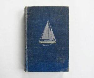 blue, notebook, and sea image